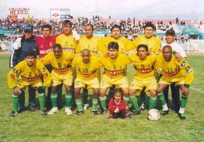 Equipo del Franciscano San Román en la temporada 2004, cuando se consagró tricampeón departamental de Puno (Foto: mybestplay.com)