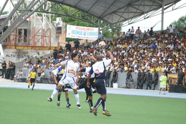 Íntimos Cable Visión también fue víctima del calor loretano y cayó 1-0 (Foto: Mario Azabache / DeChalaca.com)