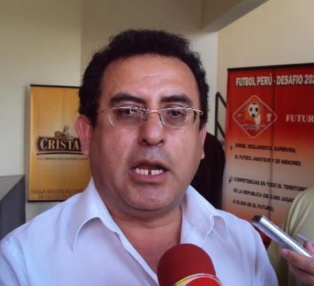 Luis Picón Quedo, actual presidente del León de Huánuco, recalcó que trajo refuerzos de peso para alcanzar el ascenso (Foto: Mario Azabache / DeChalaca.com)
