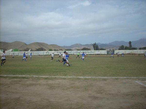 CONFORMIDAD VISITANTE. A pocos minutos del final, Michiquillay priorizó la tarea defensiva para conservar el empate (Foto: Eduardo Milla / HuarmeyPeru.com)