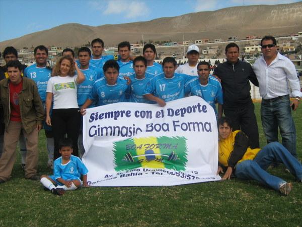 EN CASA ES MÁS CÓMODO. Deportivo Enersur se presentaba en su feudo ante sus hinchas por primera vez en la Etapa Regional (Foto: Víctor Cruz Jaliri)