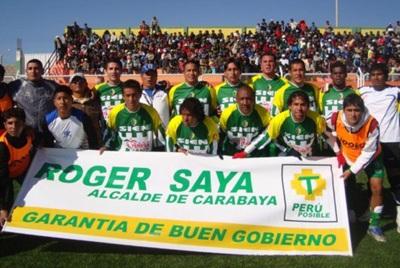 La primera incursión de Roger Saya como presidente de un club fue con SIEN de Carabaya en 2009. Sin embargo, su aporte no fue suficiente para que el equipo alcanzara al menos la Etapa Regional. (Foto: Puno Deportes)