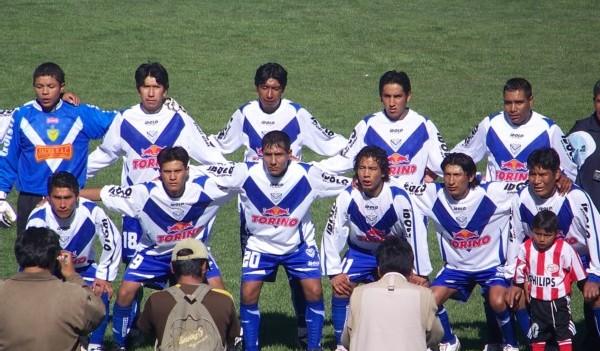Con su camiseta a lo Vélez Sarsfield, el San Felipe Volante no ha escatimado recursos en prepararse adecuadamente para dar una alegría a Caracoto este año (Foto: punodeportes.com)