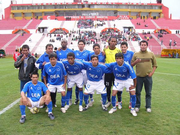 DESPEDIDA AZUL. Deportivo Educación Abancay (DEA) dijo adiós a la actual edición copera con su caída en tierra imperial (Foto: Diario del Cusco)