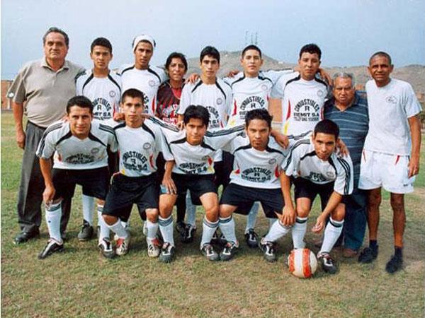 Real Olímpico en la actualidad: un equipo plagado con jóvenes valores del distrito, pero que estuvo a un tris de perder la categoría (Foto: guaromo.com)