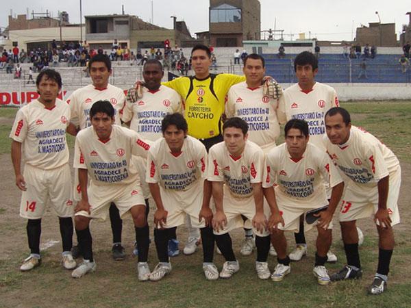 UNIVERSITARIO KM. 40. Campeón de la Liga Distrital de Lurín. (Foto: Paul Arrese / DeChalaca.com)