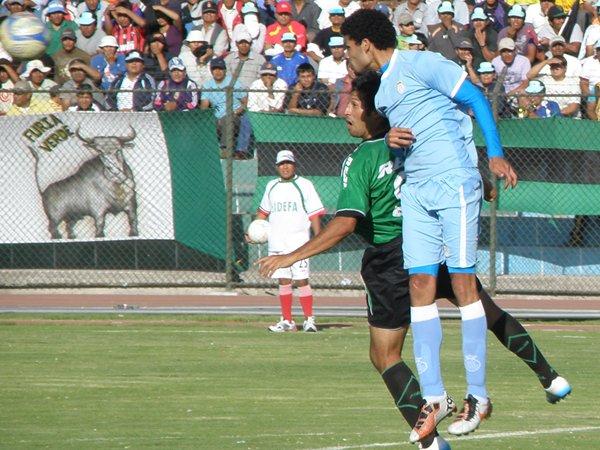 SOBRE TI. Real Garcilaso mantuvo la diferencia que sacó en el Cusco y le ganó la llave a Sportivo Huracán. (Iván Carpio / DeChalaca.com)