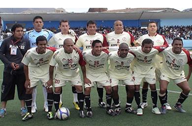 UTC se ha tomado en serio la temporada 2010. Ello, entre otras cosas, se debe al importante patrocinio que tiene con la Minera Yanacocha (Foto: Panorama Cajamarquino)