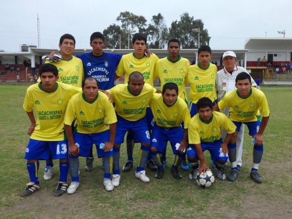 SACACHISPAS. Tercer representante de la Liga Distrital de Lurín (Foto: Mundo Deportivo Comas)