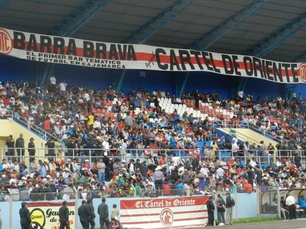El público cajamarquino abarrotó su estadio. UTC fue más local que nunca. (Foto: Aldo Ramírez / DeChalaca.com, enviado especial a Cajamarca)