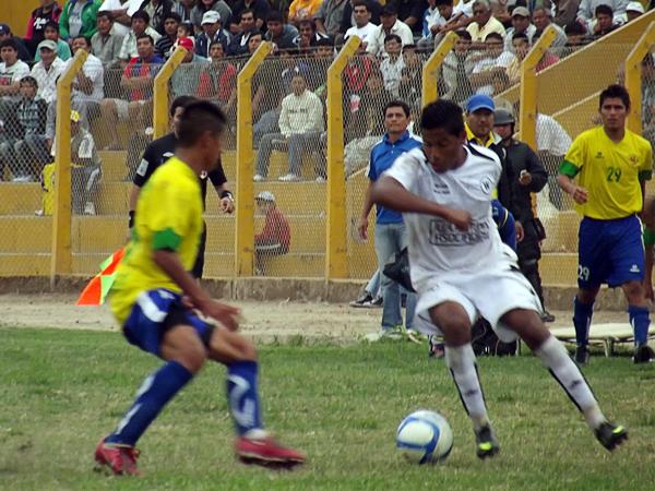 Empate sin goles entre Ormeño y San Alejandro en los octavos de final de la Copa Perú 2012, en Imperial. (Foto: Prensa Defensor San Alejandro)