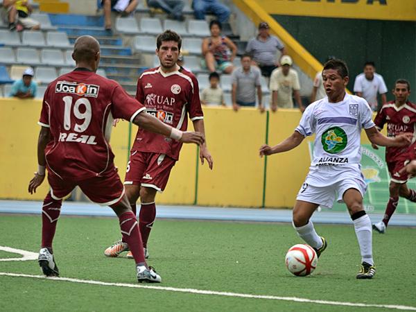 Si Alianza Cristiana llegó a la Segunda División fue por el buen papel que cimplió en la última Copa Perú, edición en la que solo UTC pudo cortarle el camino (Foto: Fernando Herrera / DeChalaca.com)