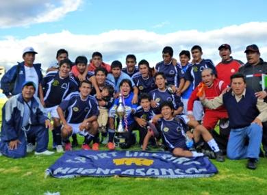 Sport Libertad de Huahuasancos dio la sorpresa de esta etapa al coronarse campeón departamental de Ayacucho. (Foto: José Luis cabrera)