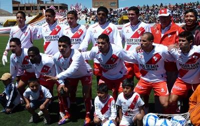 El aporte económico de Saya ha sido vital para que Alfonso Ugarte vuelva al protagonismo este 2012, y esté muy cerca del retorno a Primera División. (Foto: Puno Deportes)