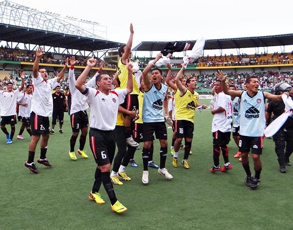 El plantel de Unión Huaral es íntegramente limeño. Contar con elementos locales marcará una pauta en el futuro del 'fútbol macho'. (Foto: diario Ahora de Pucallpa)
