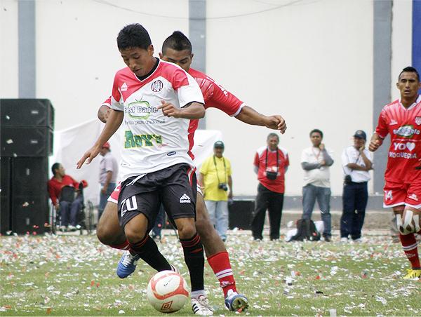 La última vez que se vistió de blanco, a Huaral le tocó ganar, aunque el resultado no le alcanzó para subir a Primera División (Foto: Iván Carpio / DeChalaca.com)