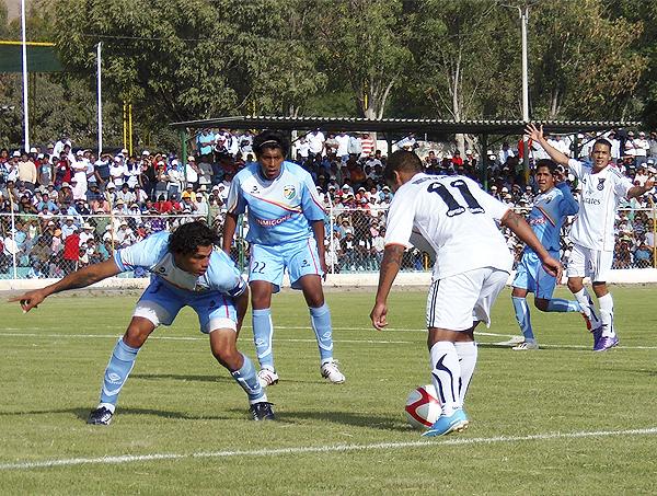 Gran apoyo del público recibió Saetas en la Etapa Nacional, como ante Fuerza Minera cuando jugó en La Joya (Foto: Iván Carpio / DeChalaca.com)