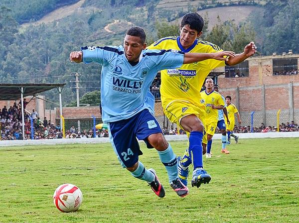 En la Copa Perú de 2013 se enfrentaron en la cancha, ahora en la Segunda División puede que también tengan alguna rivalidad por los símbolos que representan a Willy Serrato y Comerciantes Unidos (Foto: Jhon Llatas)