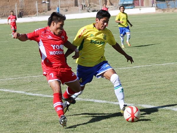 San Simón frenó el camino de Alipio Ponce en las semifinales aunque alcanzar dicha etapa le permite formar parte de la Segunda División en 2014 (Foto: Mihay Rojas / DeChalaca.com)