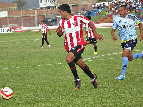 Un arranque sorpresivo tuvo Unión Huaral en Olmos. El panorama hacía presagiar que el gol visitante llegaría tarde o temprano. (Foto: Mario Azabache / DeChalaca.com)