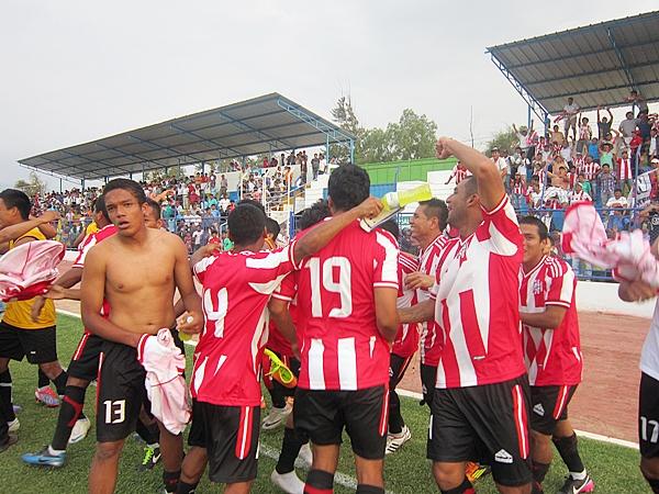 Fiesta en Huaral. El histórico está en la final de la Copa Perú. (Foto: Mario Azabache / DeChalaca.com)