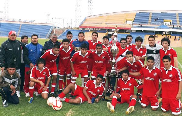 El actual Bolognesi de Tacna que por medio de la Copa Perú podría pegar el salto a la máxima categoría (Foto: Carlos Saavedra Albarracín)