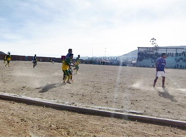 4 de Diciembre y Bolognesi, los representantes tacneños en la Copa Perú 2013, no lograron alcanzar al menos la Etapa Nacional (Foto: Radio Uno de Tacna)