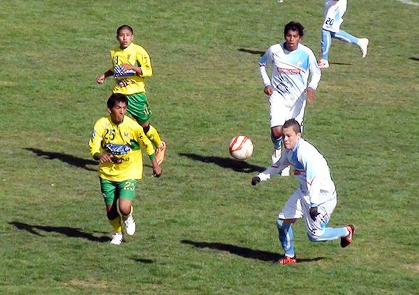 Aún se está por ver si el empate entre San Román y Fuerza Minera se mantiene de acuerdo al reclamo presentado por el equipo puneño (Foto: Puno Deportes)