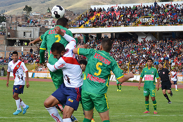 Los pronósticos daban como favorito a Sport Águila, pero Unión Pichanaki sorprendió en el propio Huancayo venciendo 1-2 en la ida de Cuartos de Final (Foto: diario Primicia)