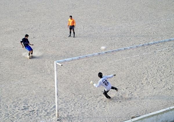 La Liga Interna de Huaycán comenzó su actividades en el 2000 con una importante presencia de público (Foto: Liga Intradistrital de Huaycán)
