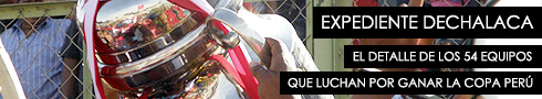 Expediente Copa Perú