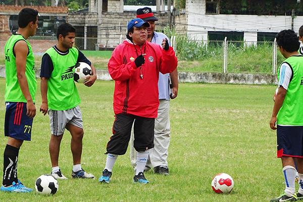 José Tembladera llegó al Sport Águila con el objetivo de llevarlo a Primera (Foto: Águila Pasión)