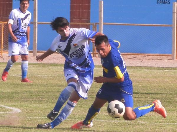 El partido ante la Universidad San Pedro fue la primera prueba de fuego para Chavelines, el cual se impuso 2-1, resultado clave para llegar a la Nacional (Foto: Luis Loyaga)