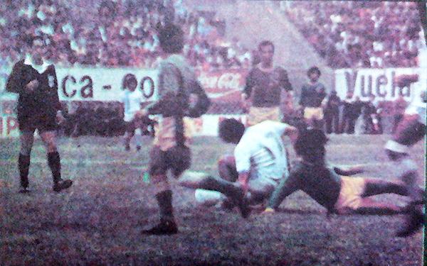 Ante Aguas Verdes, ADT solo precisaba del empate. El punto le dio su primera Copa Perú. (Recorte: diario La Crónica)