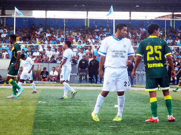 Sport Áncash le hizo un reclamo peculiar a Cristal Tumbes. (Foto: Cludes Etapa Provincial)
