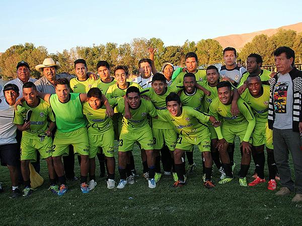 La Colina FC (Foto: Miguel Zavala / diario El Pueblo de Arequipa)