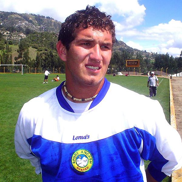 Marco Rojas fue parte de Sport Áncash en el fútbol profesional. (Foto: Panorama Huaraz)