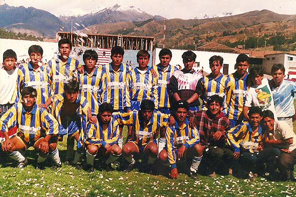 Sport Rosario en 1996, uno de los primeros equipos que comenzó a sonar fuerte. (Foto: Facebook)
