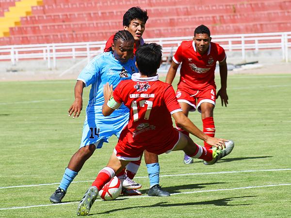 Portugal y Lobo tuvieron un duelo aparte. (Foto: Iván Carpio / DeChalaca.com)