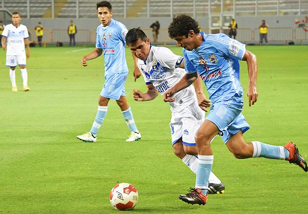 Hualgayoc perdió los papeles en el segundo tiempo y se quedó sin chance de alcanzar la Copa Perú. (Foto: Pedro Monteverde / DeChalaca.com)