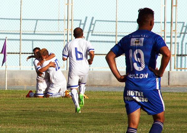 Hoover Crespo y Bryan Carrillo son los valores importantes de Hualgayoc. (Foto: Leroy Maquera / Radio Uno de Tacna)