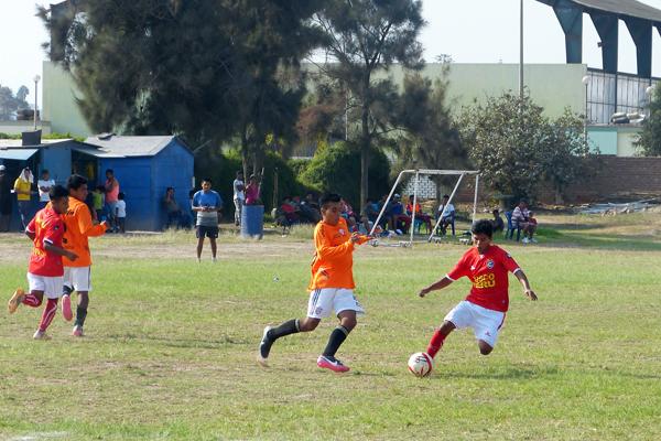 El Imperio Rojo es el estadio de las divisiones de Cienciano en Lima, aunque no sea precisamente propiedad del club. (Foto: Roberto Castro / DeChalaca.com)