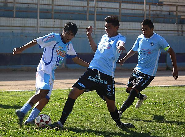 La gran sorpresa de la Copa Perú se produjo en el Unión Tarma: ADT perdió 1-2 ante el colero FC Huayrapata. Sin embargo, ¿fue un partido legal? (Foto: Pelegrino Sedano)