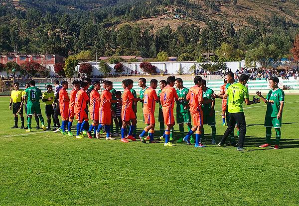 Los Audaces de Mayapo, cómodo en Huanta aunque representado al VRAE, eliminó a Sport Huanta en la semifinal de la Departamental. (Foto: prensa Sport Huanta)