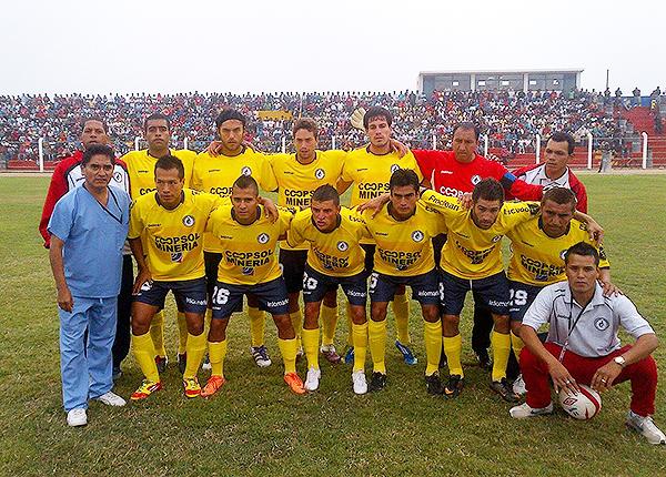 Carlos Laura con la camiseta de Deportivo Coopsol. De hecho, el arquero ya tuvo un paso por Deportivo Aviación. (Foto: José Chumpitaz)