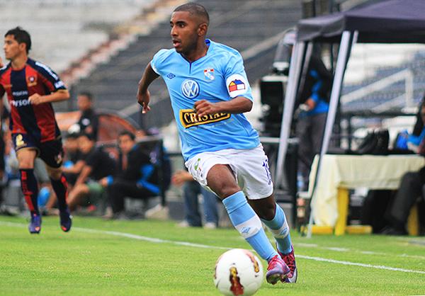 Deyair Reyes comenzando su carrera en Sporting Cristal, club en el que hizo las divisiones menores. (Foto: Andina)