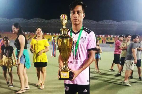 El reconocimiento a Deportivo Manaos por su histórica clasificación. (Foto: Naite Ahuanari)