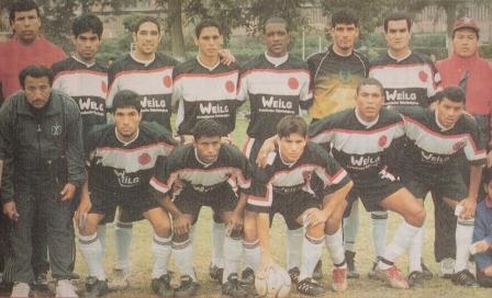 Formación del San José Joyeros de Lince campeona del Interligas en la temporada 2003 (Foto: semanario deportivo Al Toque, N° 5 p. 16)