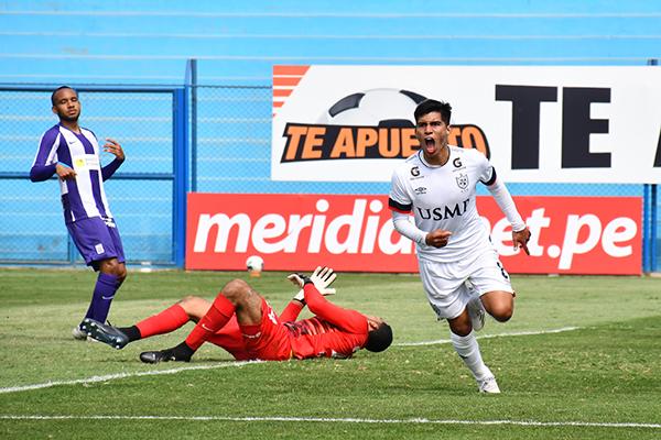 Guivin fue el goleador de la temporada para la San Martín pese a jugar como volante de primera línea. (Foto: Julio Aricoché / DeChalaca.com)