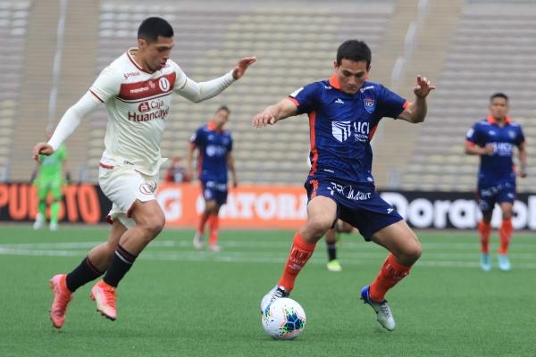 Vélez busca emprender camino ante Cabanillas. El ecuatoriano estuvo lejos de sus mejores versiones. (Foto: Prensa FPF)